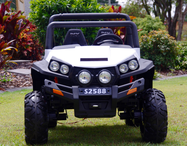 Renegade Maverick RS White Ride on ATV