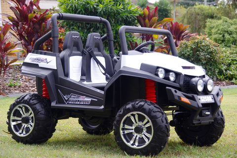 IN STOCK NOW!!! Renegade Maverick RS White 4x4 Ride on ATV