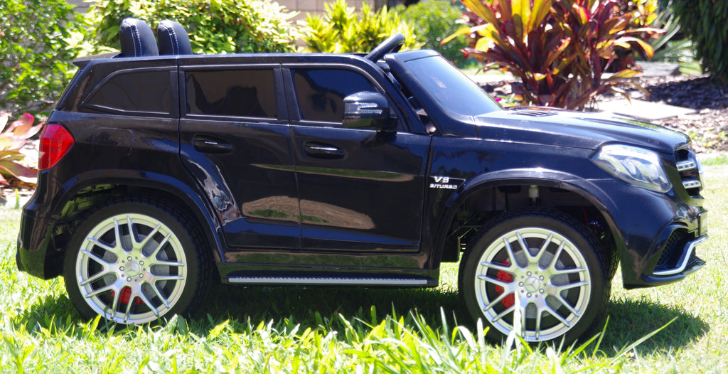 2 seater mercedes benz gls63 black on sale now while for Mercedes benz for kids