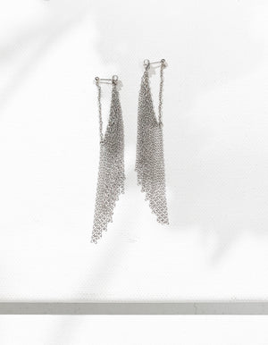 Project 08 - Fringe earrings I
