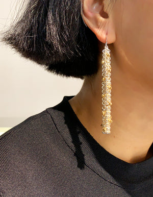 Project 10 - Equisetum - Drop earrings III