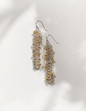 Project 10 - Equisetum - Drop earrings II
