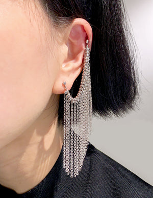Project 08 - Fringe earrings II
