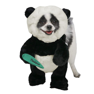 Pandaloon Panda Costume from Shark Tank Walking Teddy Bear outfit for dogs and cats