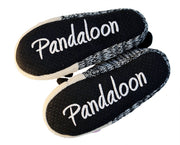 Knitted Panda Ballet Slippers with Furry Lining - Pandaloon