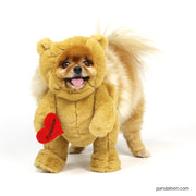 pandaloon funny teddy bear costume with arms for dogs pets