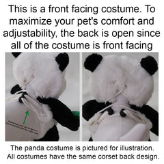 Pandaloon Teddy Bear Pet Costume AS SEEN ON SHARK TANK -- Buy Now, Measure Later!