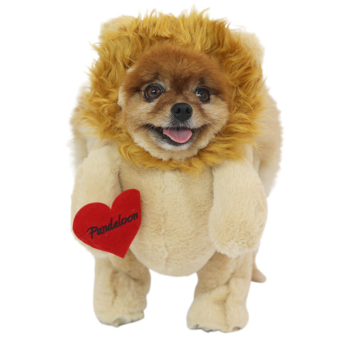 Pandaloon Walking Lion with Mane Dog and Pet Costume AS SEEN ON SHARK TANK