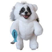 Pandaloon Walking Polar Teddy Bear Dog and Pet Costume - AS SEEN ON SHARK TANK