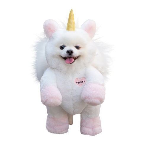 Pandaloon Walking Unicorn Dog and Pet Costume - AS SEEN ON SHARK TANK