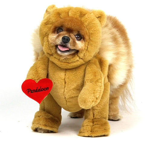 ... Pandaloon Walking Teddy Bear Dog and Pet Costume - AS SEEN ON SHARK TANK ...  sc 1 st  Pandaloon & Pandaloon Walking Teddy Bear Dog and Pet Costume - AS SEEN ON SHARK TA