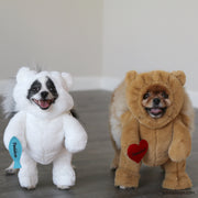 Pandaloon Walking Polar Teddy Bear Dog and Pet Costume - Pandaloon
