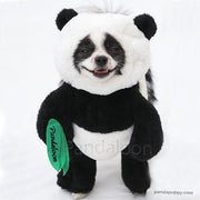 Pandaloon Panda Puppy Pet Costume AS SEEN ON SHARK TANK -- Buy Now, Measure Later!