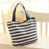 Panda Striped Tote Bag - Pandaloon