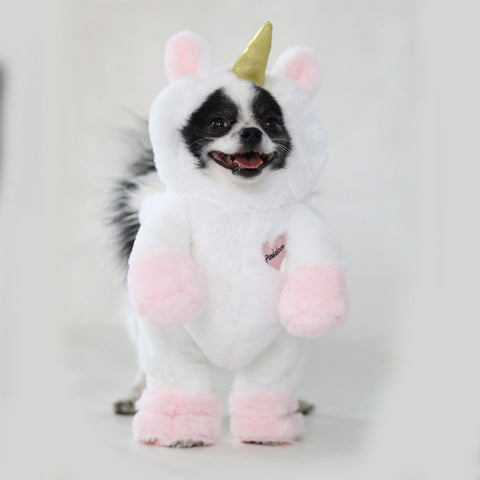 Pandaloon Walking Unicorn Dog and Pet Costume - Pandaloon