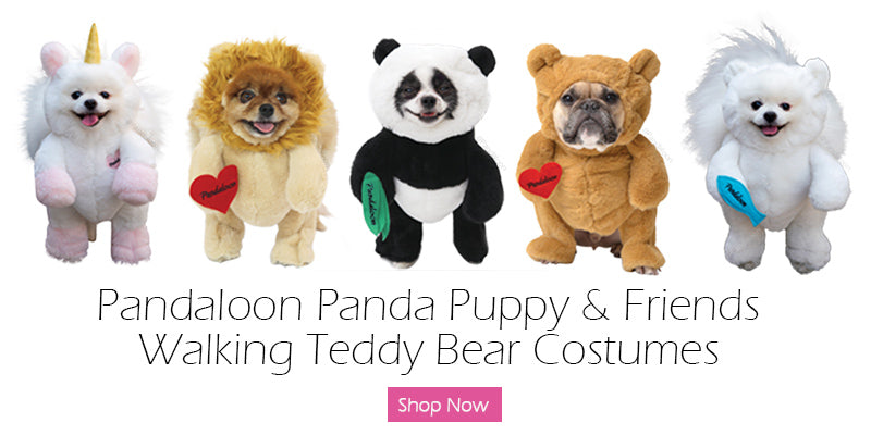 pandaloon puppy dog costume with arms crazimals