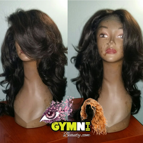 "Lace Closure Wig ""Cleopatra"""