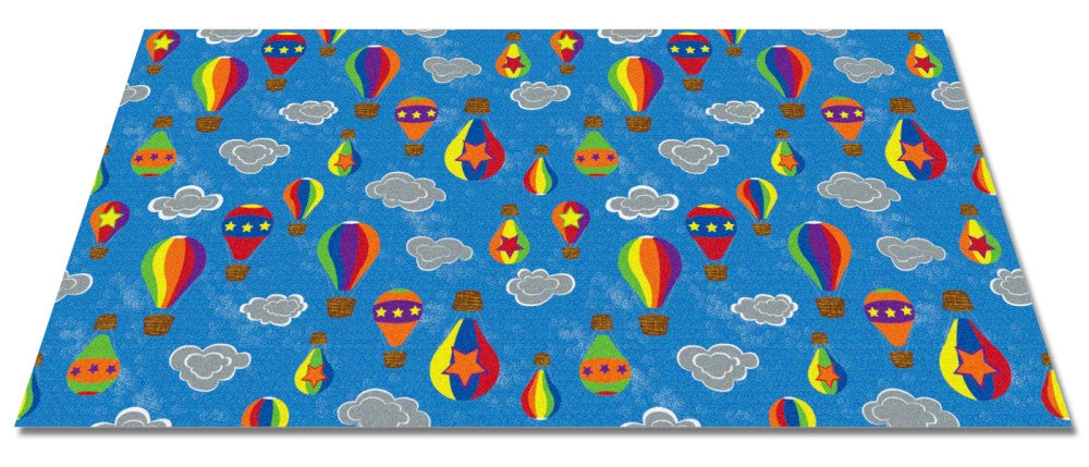 Up and Away Kid's Wall to Wall Carpet - KidCarpet.com