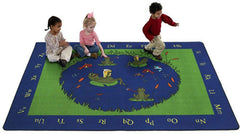 Frogs Learning Rug