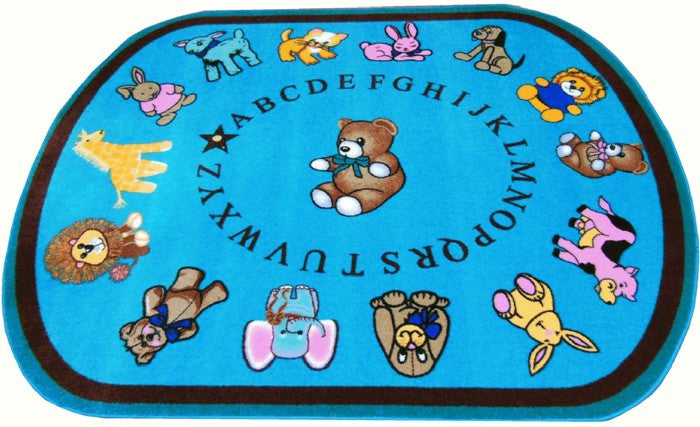 Baby Animals Daycare Rug - KidCarpet.com