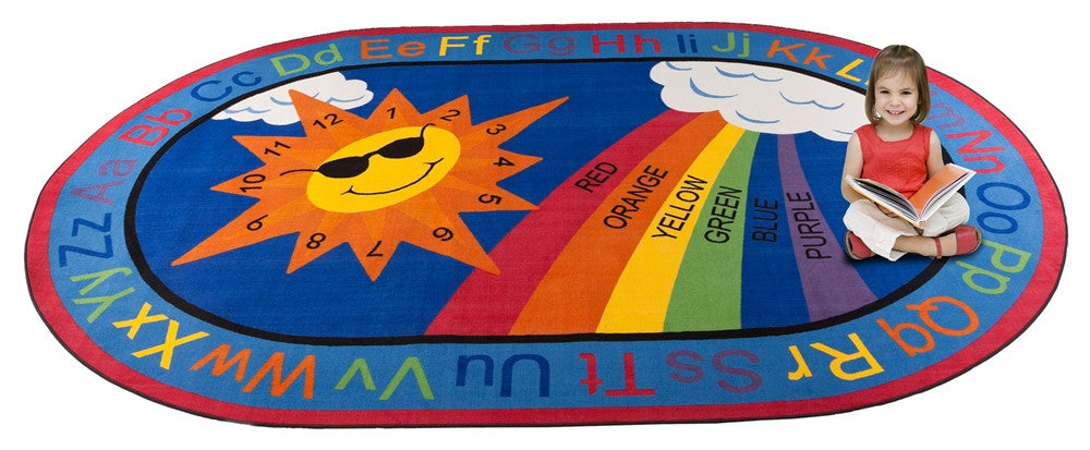 Sky's the Limit Learning Rug - KidCarpet.com