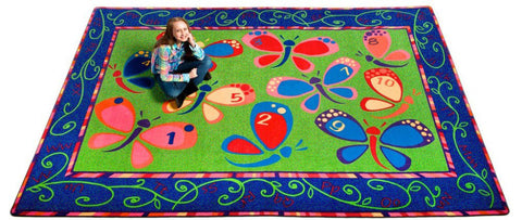 Learning on the Fly Rug