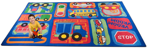 Vroom Vroom Car Play Rug