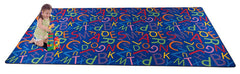 Colorful Letters Alphabet Rug for Kids