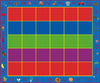 ABC Rainbow Seating Rug 30