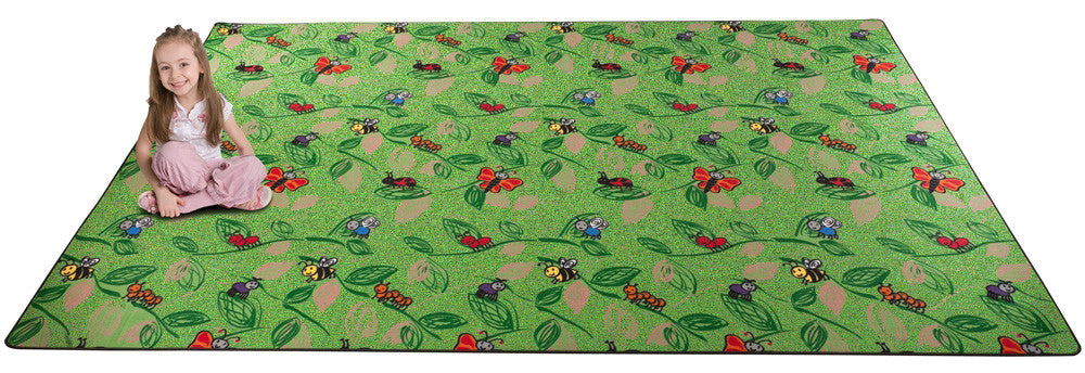 Buzzy Bugs Wall to Wall Carpet for Kids - KidCarpet.com