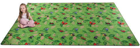 Buzzy Bugs Wall to Wall Carpet for Kids
