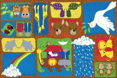 Noah's Story Sunday School Rug