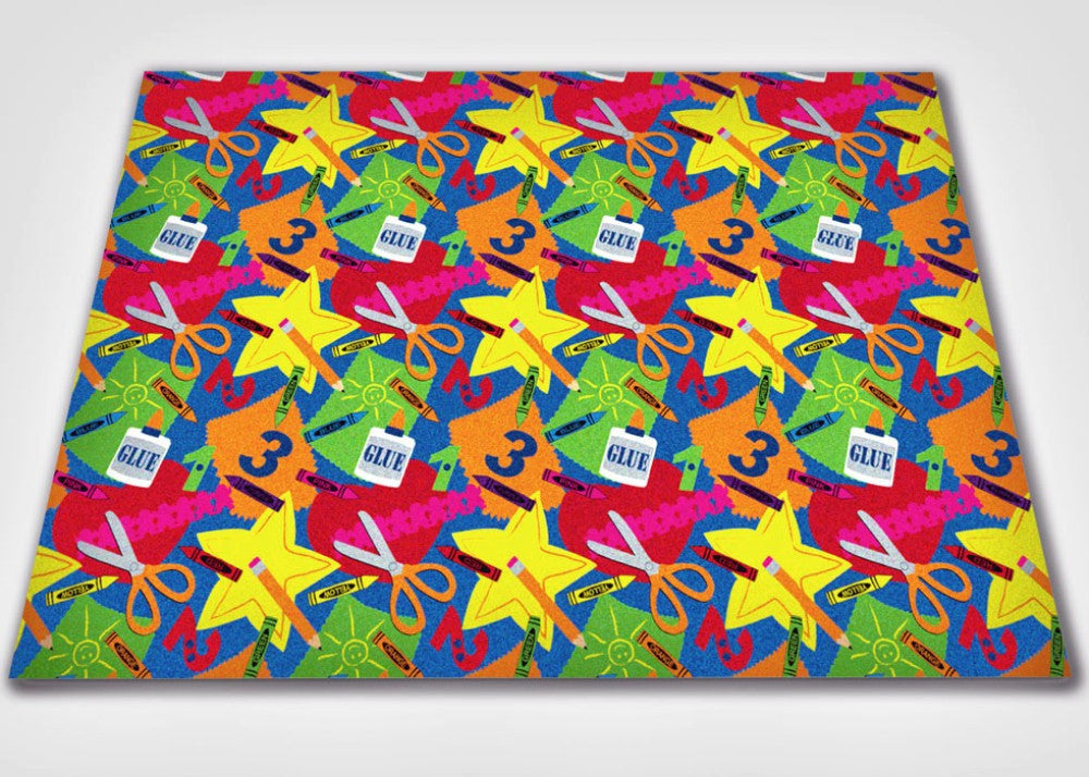 Arts And Crafts Children S Wall To Wall Carpet Kidcarpet Com