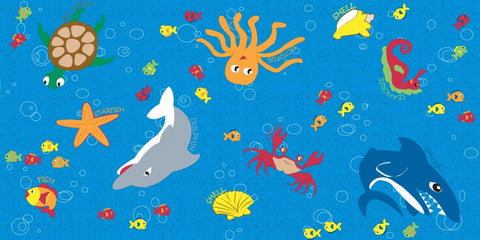 Ocean Friends Children's Rug