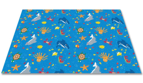 Ocean Friends Wall to Wall Children's Carpet
