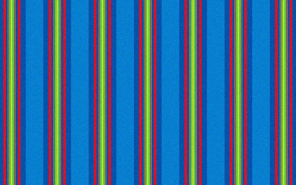 Classic Stripes Kids Rug Cool Blue - KidCarpet.com