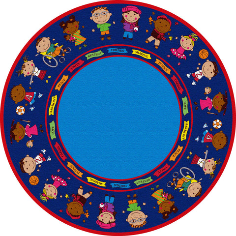 Friends Full Circle Rug