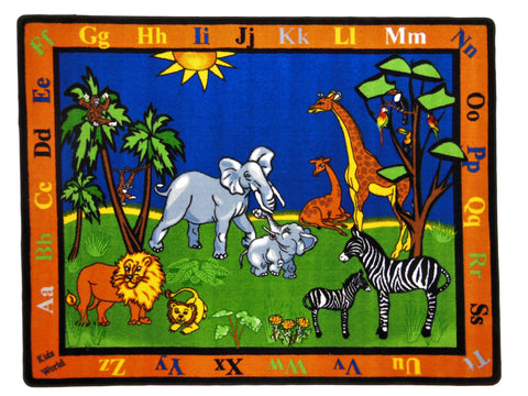 Safari Fun Nursery Rug