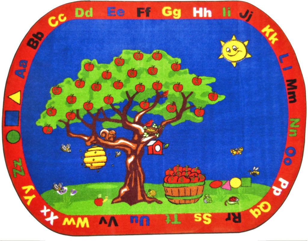 Apple Tree Rug - KidCarpet.com