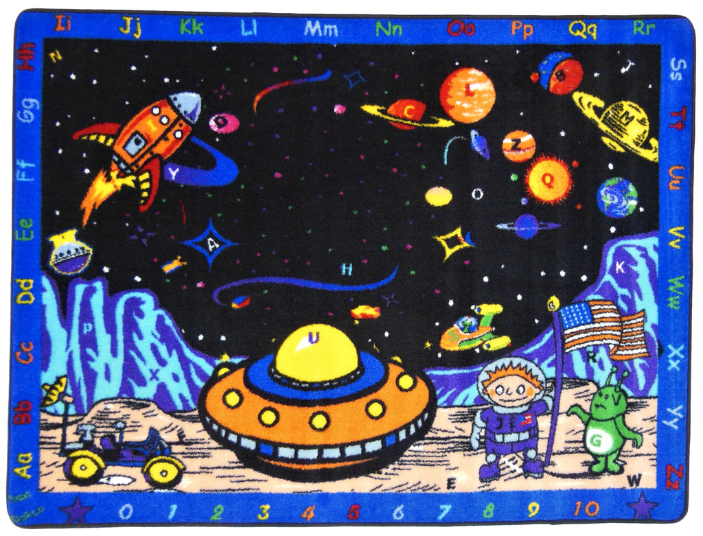 Space Station Rug - on backorder until approximately March 2021 - KidCarpet.com