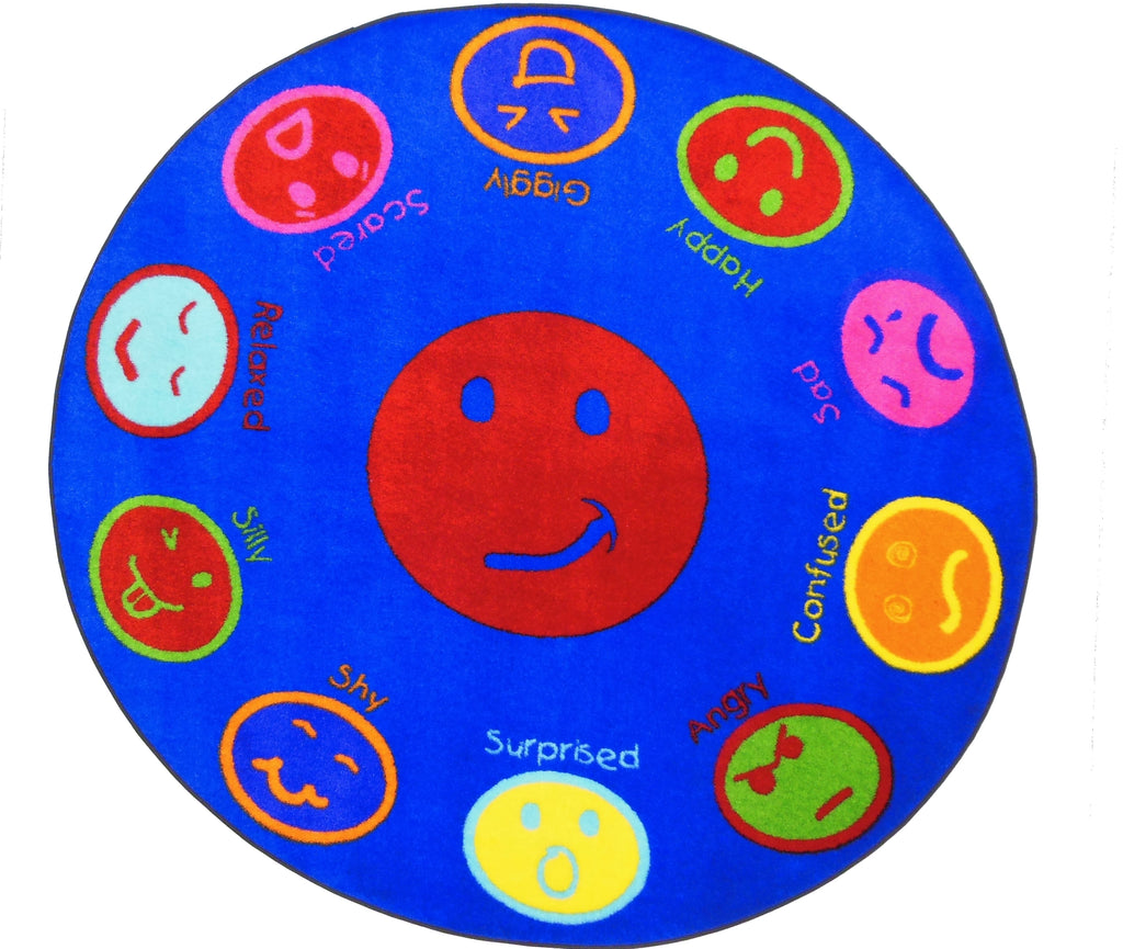 My Feelings Rug- on backorder until approximately Oct 2020 - KidCarpet.com