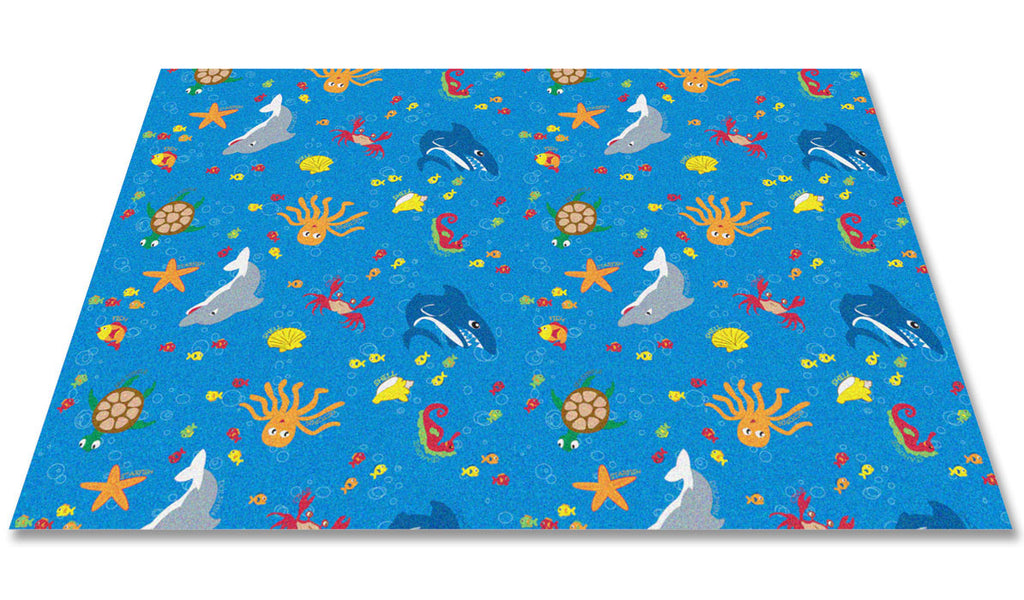 Ocean Friends Children's Rug - KidCarpet.com