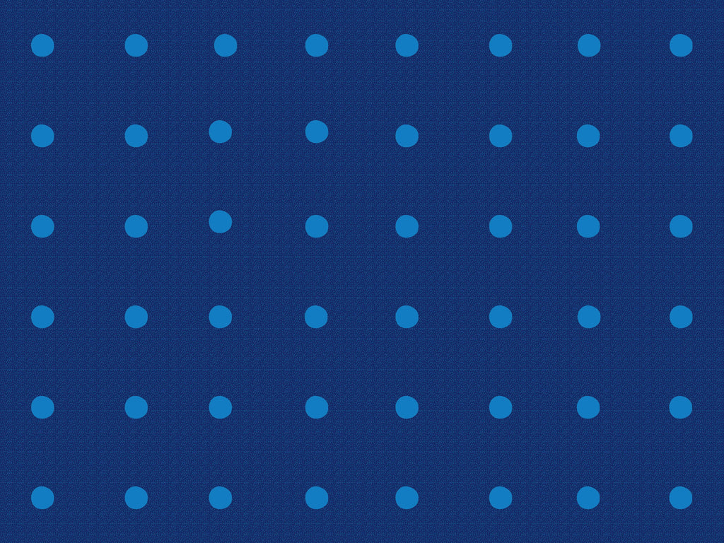 Dots In A Row Wall to Wall Carpet Blue on Blue - KidCarpet.com