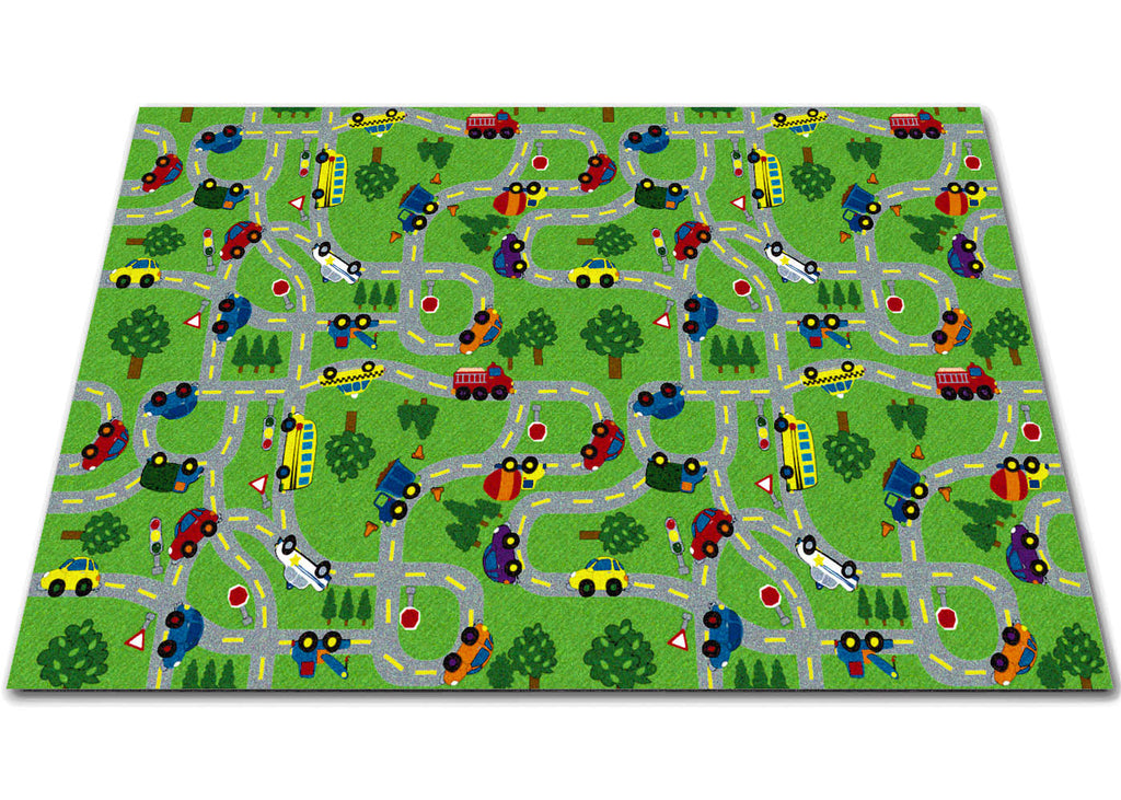 On The Go Kids Rug - KidCarpet.com