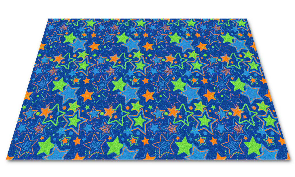 Seating Stars Children's Wall to Wall Carpet - KidCarpet.com