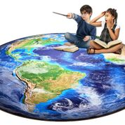 Around the World Photo Rug - KidCarpet.com
