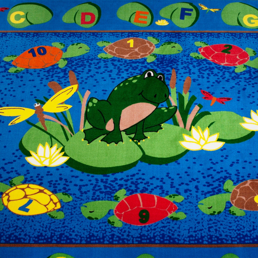 Turtle Circle Time Rug - KidCarpet.com