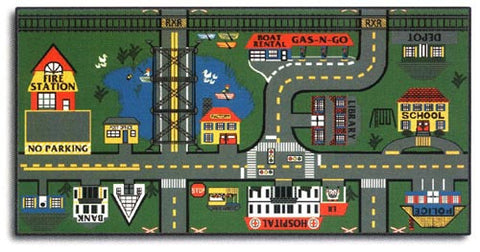 Places To Go Road Rug