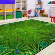 Rainforest Frogs Photo Rug - KidCarpet.com