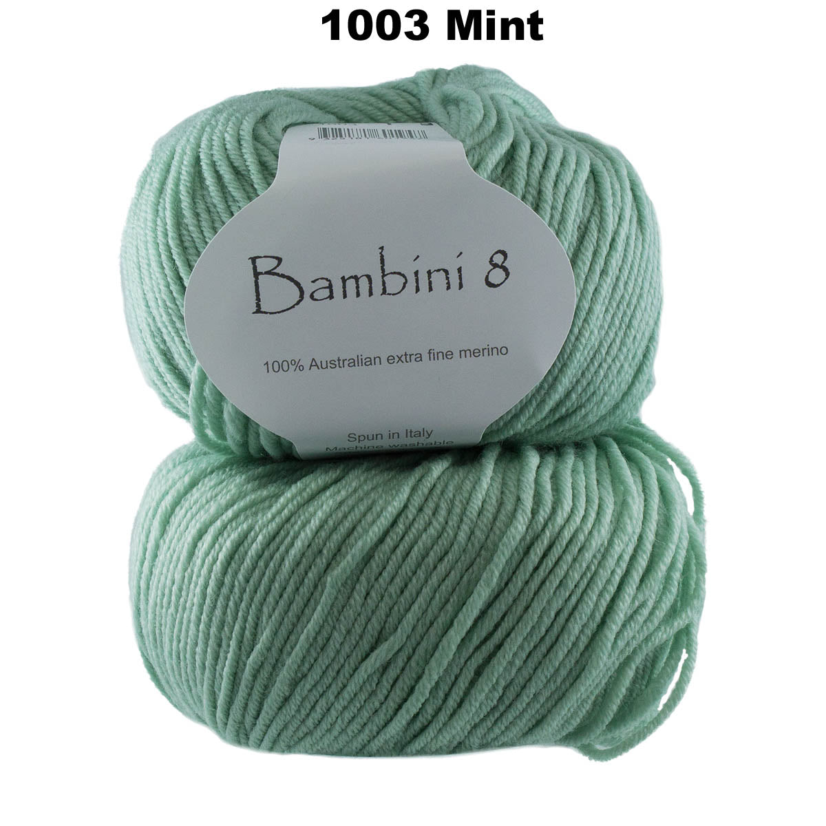 BAMBINI 8 - 8ply/DK/Lt Worsted 100% Australian Merino 50g/125m CHOOSE COLOUR